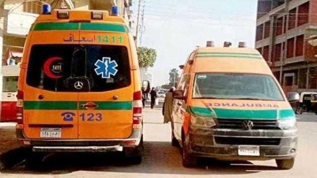 مصرع شخص صدمته سيارة طائشة أعلى الطريق الدائري بالقليوبية