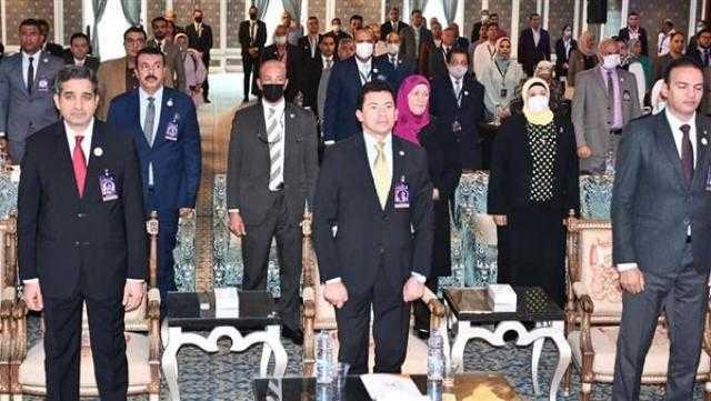 وزير الرياضة يشهد افتتاح المؤتمر العلمي الدولي في علوم الرياضة