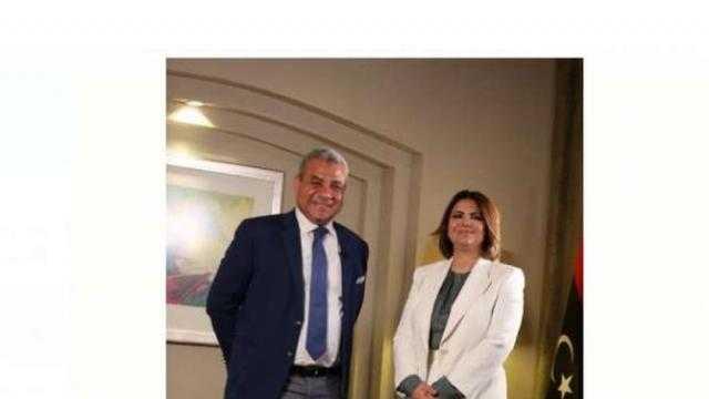 وزيرة خارجية ليبيا: زيارتي لمصر تاريخية ووجدت ترحابا من السيسي