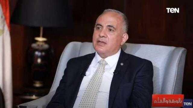 محمد عبد العاطي: نستعد ببنية تحتية حول السد العالي لاحتمالية انهيار سد النهضة